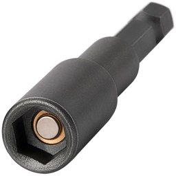 Ponteira Canhão Sextavado Interno 1/4 Pol. 65mm