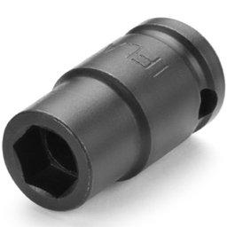 Soquete de Impacto Sextavado 10 x 34mm com Encaixe 3/8Pol.