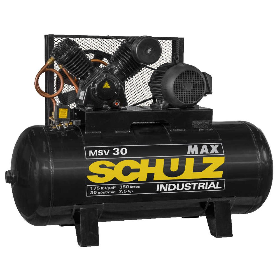 Compressor Max MSV Blindado 30 Pés 350L 7,5HP Trifásico