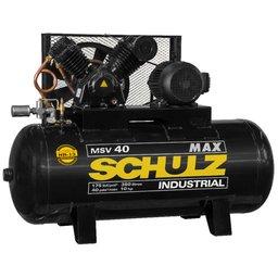 Compressor de Ar MSV 40MAX 10HP 40 Pés 353L 220/380V