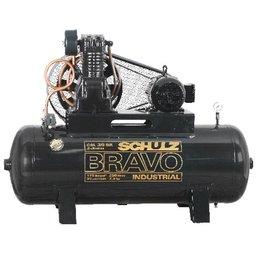 Compressor Bravo CSL 30 Pés 250L 7,5HP 220/ 380V