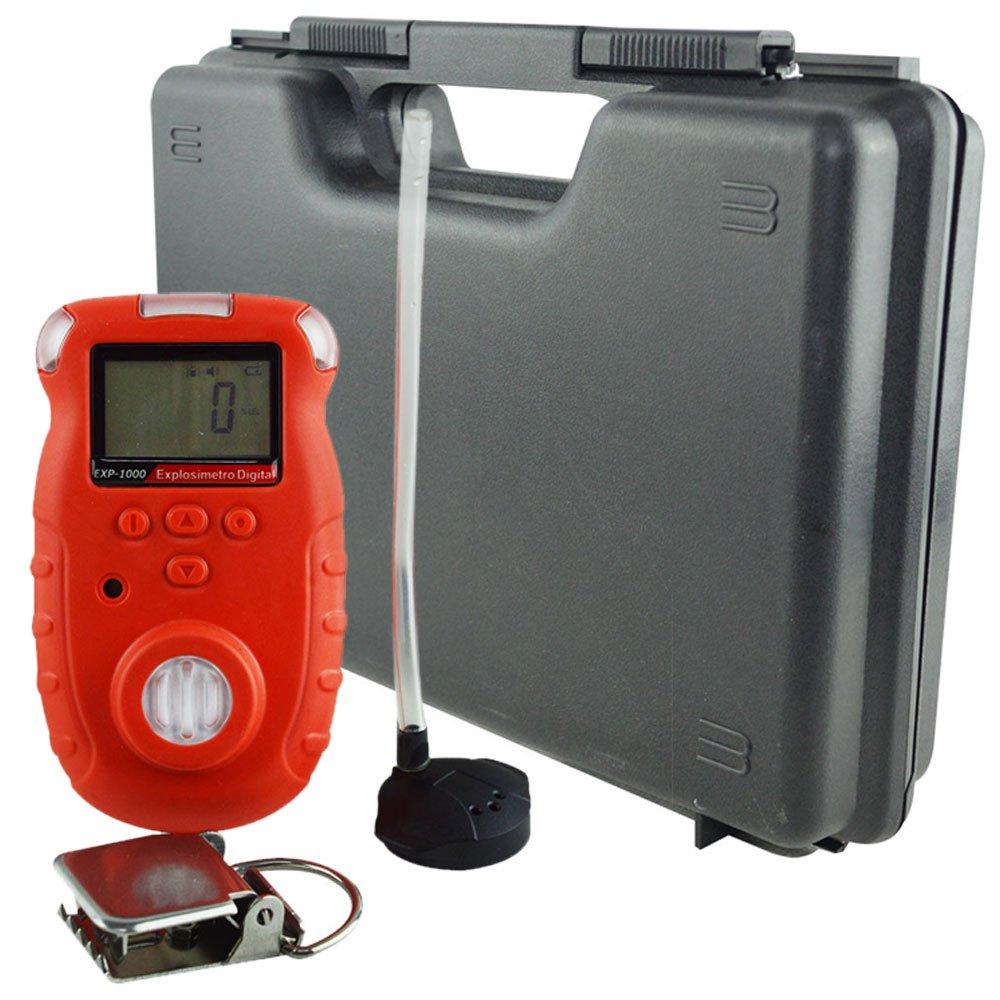 Explosímetro Digital Portátil - 0 A 100% LEL com Armazenamento de Dados