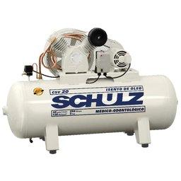 Compressor Odontológico Isento de Óleo CSV 20 Pés 250L 5HP 220V
