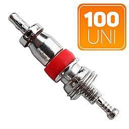Núcleo Curto para Válvula de Automóveis, Caminhões e Ônibus com 100 Unidades