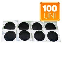 Manchões para Pequenos Furos Pneus Radiais e Convencionais 67 x 67mm com 100 Unidades