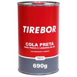 Cola Preta para Pneus e Câmaras de Ar com 690g