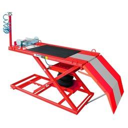 Elevador Pneumático para Motos 500Kg SP500 Vermelho/Cinza