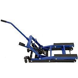 Elevador Hidráulico Azul 680kg para Moto