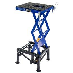 Mini Elevador Hidráulico Azul para Motos até 135kg