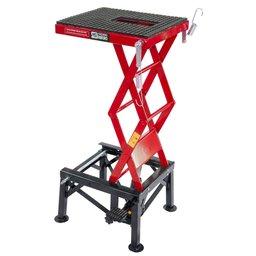Mini Elevador Hidráulico Vermelho para Motos até 135kg