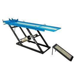 Elevador/Rampa Pneumática para Moto 250Kg Azul