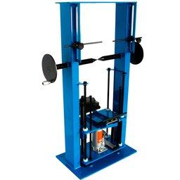 Desempenador Estástico Azul de Rodas de 14 a 21 Pol.