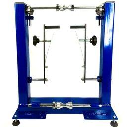 Balanceador Estático e Alinhado para Motos de Alta e Baixa Cilindrada com Rodas de 11 a 27mm