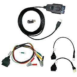 Scanner MotoCheck para Motos Linha Honda e Yamaha para Tablet e PC com Windows