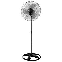 Ventilador Oscilante de Coluna Premium 60cm Preto Bivolt