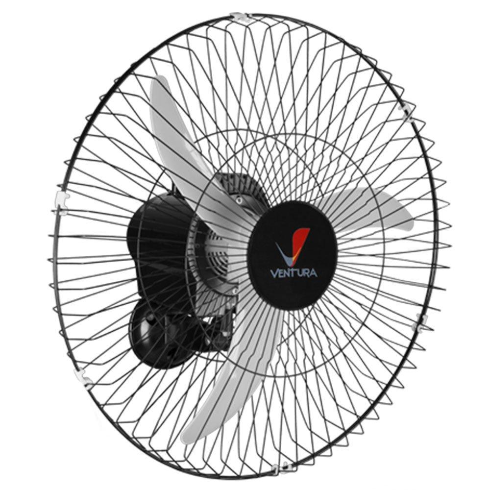 Ventilador Oscilante de Parede Ventura 60cm 150 W Bivolt Preto
