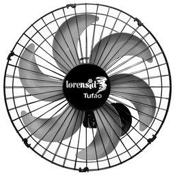 Ventilador Tufão M2 Preto 50cm Bivolt de Coluna