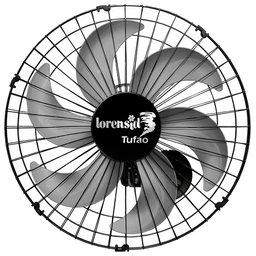 Ventilador de Parede Turbo Tufão 50cm 150W Bivolt Preto