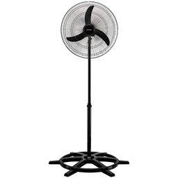 Ventilador Oscilante de Coluna 50cm Preto Bivolt Comercial