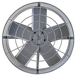 Ventilador Exaustor Cinza 40cm