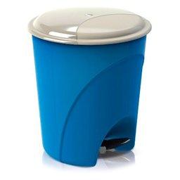 Cesto de Lixo Fechado com Pedal 12L