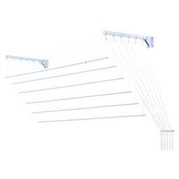 Varal Prático para Teto e Parede em Aço 1,20m