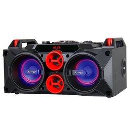 Caixa de Som Amplificada 150W Bivolt 110/220 V com Karaokê, Bluetooth, Rádio FM e MP3