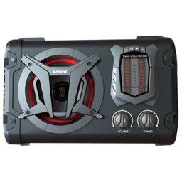 Caixa de Som Amplificada 45W Bivolt com Karaokê, Bluetooth e Rádio FM/AM/SW
