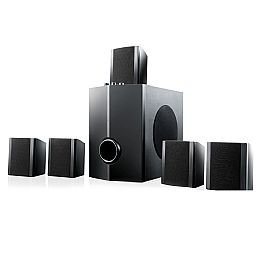 Home Theater Super Bass Subwoofer 5.1 Canais 40W