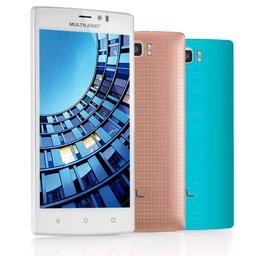 Smartphone MS60 4G QuadCore 2GB RAM Tela 5,5 Pol. Dual Chip Android 5 Branco