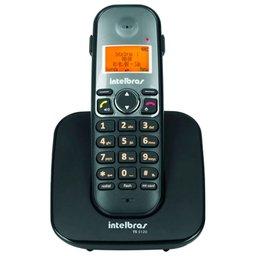 Telefone Digital sem Fio Preto com Display e Teclado Iluminado Modo Babá e Fone de Ouvido TS 5120