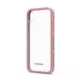 Capa  Iphone Xs/X Dualtek Extreme Shock Puregear pink/transp