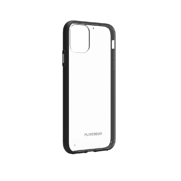 Capa Iphone 11 Promax 6.5 Slim Shell Puregear Preto/transp