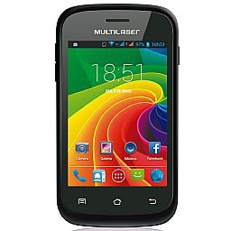 Smartphone Ms2 Preto Dual Chip Tela 3.5 Pol.