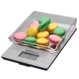 Balança de Cozinha Digital em Aço Inox Até 5kg com Tigela