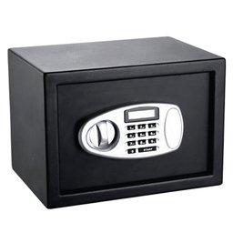 Cofre Eletrônico Preto com Tela LED