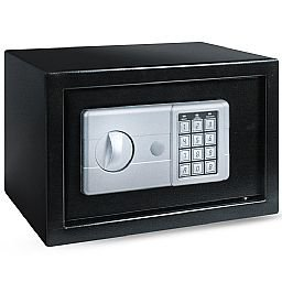 Cofre Eletrônico Burglary Safe Preto 16 Litros
