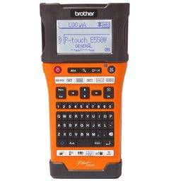 Rotulador Eletrônico E500 Laranja e Preto com Wireless