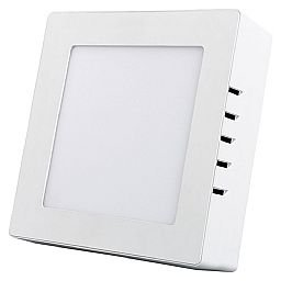 Painel de Led Quadrado 170 x 170mm 800 Lúmens 12W 6500K Luz Branca