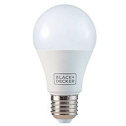 Lâmpada Bulbo LED Amarela 4,8W 3000K A55 E27 Bivolt