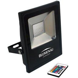 Refletor de Led Slim 20W RGB Bivolt