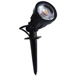 Luminária Tipo Espeto Articulado Bivolt com LEDs 3000k Branco