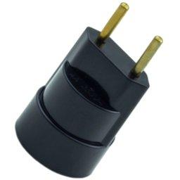 Soquete com Plug Pino Porta Lâmpada