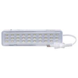 Luminária de Emergência Autônoma 1W 100 Lumens Bivolt