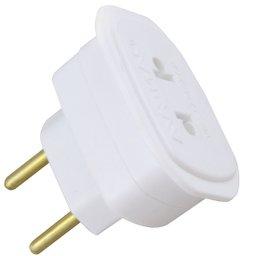 Adaptador para Tomada Universal 2P 10A / 250V