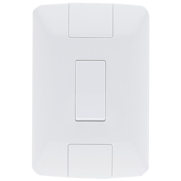 Interruptor Aria 6A 250V 4 x 2 Branco