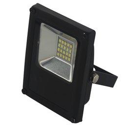 Refletor LED Slim 10W Luz Branca 6.000K Bivolt