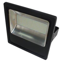 Refletor LED Slim 200W Luz Amarela 3.000K Bivolt