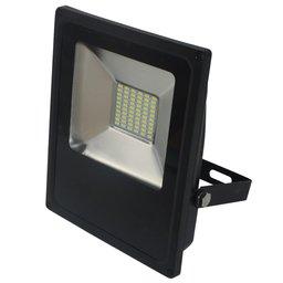Refletor LED Slim 30W Luz Branca 6.000K Bivolt