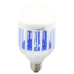 Lâmpada LED Branca 2 em 1 com Mata Insetos 3500K 110V